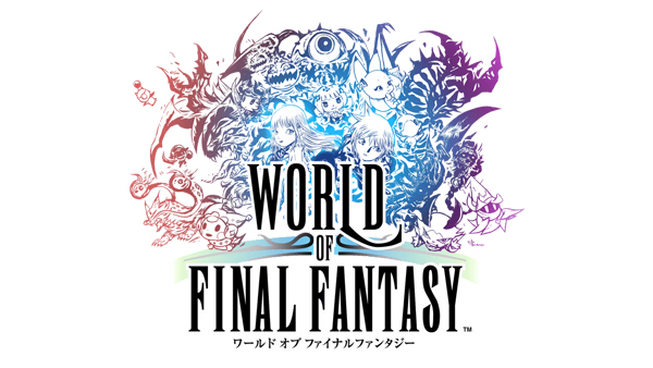 World of Final Fantasy logo